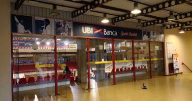 Ubi Banca Sport Center, rinnovata tutta la cartellonistica del Palazzetto dello sport di Jesi