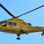 Brutta caduta dalla moto sulla pista da cross, ricoverato all'ospedale di Torrette