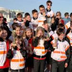I giovanissimi del pedale (dai 7 ai 12 anni) hanno inaugurato la densa stagione ciclistica senigalliese