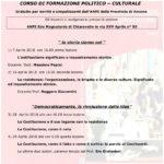 Da sabato a Chiaravalle un corso di formazione politico culturale