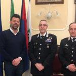 Ricevuto in Comune il nuovo comandante del Nucleo Operativo Radiomobile della Compagnia Carabinieri di Senigallia