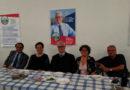 Presentati al Circolo Endas di Chiaravalle i candidati repubblicani Stefano Mosca e Michela Pergolini che sostengono Alessandro Bianchini