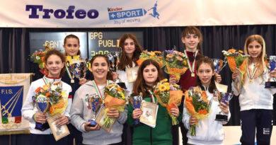 Chiara Baldoni ad un passo dal podio al campionato italiano under 14 di scherma