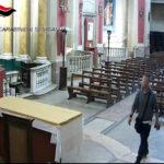 Ruba in due chiese di Senigallia vasi sacri e fregi decorativi d'oro, catanese denunciato dai carabinieri