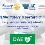Un defibrillatore a portata di mano, da domenica sera attive a Senigallia le postazioni pubbliche