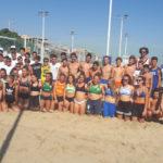 Dall'alleanza tra Comune di Falconara e campioni nazionali del volley nasce il nuovo polo sportivo della spiaggia libera di Palombina