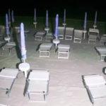 Razzia di lettini, nella notte, negli stabilimenti balneari di Marotta