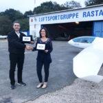 L'amicizia è anche nei cieli: gemellaggio tra Aero Club Fano e Luftsportgruppe di Rastatt