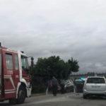 Due feriti a Marotta in un incidente davanti all'ingresso dell'autostrada