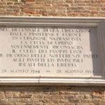 28 agosto 1944, una data da non dimenticare: 74 anni fa Urbino si liberò dal nazifascismo