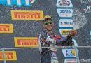 Trionfo senigalliese nel Campionato National Trophy SBK 1000: al Mugello Simone Saltarelli sale ancora sul gradino più alto del podio