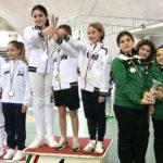 Fioretto di bronzo per le ragazze del Club Scherma Senigallia al campionato regionale under 14