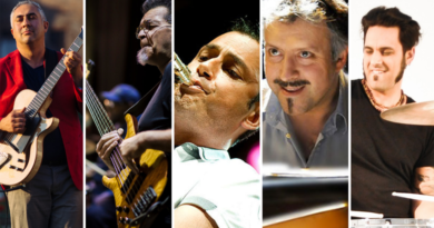 Fa tappa a Corinaldo il mini tour italiano del Luca di Luzio Jimmy Haslip Quintet