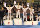 Taekwondo, al campionato italiano Serie B 2018, oro per Elia Bugugnoli, argento per Elena Lanari e bronzo per Enrico ed Alessia Morganti