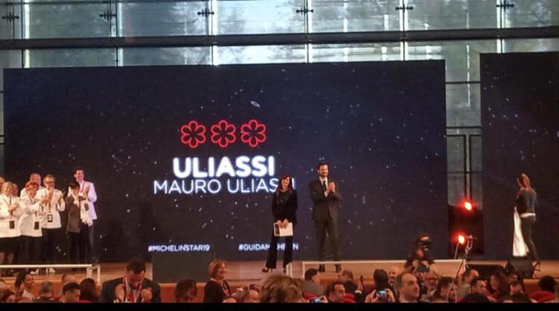 Il senigalliese Mauro Uliassi ha conquistato per la prima volta le tre stelle Michelin