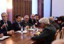 Vertice in Prefettura alla presenza del premier Conte dopo la tragedia di Corinaldo