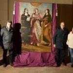 Presentato a Fano il dipinto della chiesa di Castelsantangelo sul Nera fatto restaurare dall'Archeoclub cittadino