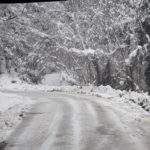 Continuano gli interventi di sgombero della neve nelle zone più alte dell'entroterra pesarese