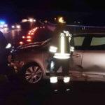 Due feriti nella notte in un incidente lungo l'autostrada, poco prima dell'uscita di Senigallia