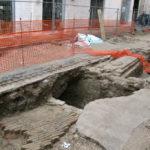 In via San Martino, a Senigallia, venuti alla luce i resti di un quartiere medievale