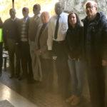 Il sindaco di Giuba, capitale del Sud Sudan, in visita alle Grotte di Frasassi