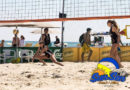 "Ultimi preparativi ai Bagni Roberto 44 di Senigallia per il ""SunSen"" il primo grande evento di beach volley dell'estate 2019"