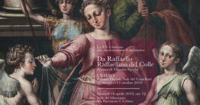 A Urbino una bellissima mostra curata da Vittorio Sgarbi per rendere omaggio a Raffaellino del Colle